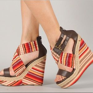 Soda Wilber-S Multicolored Wedges
